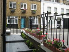Entrance to London property