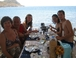 Fiorella, Renzo, Valeria, Nadia and Davide: Gumusluk (Bodrum peninsula, Turkey), Aug. 2011