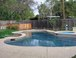 Pool: The pool was built in the summer of 2008 and has a large shallow end with basketball hoop. It is about 45' long and 8' deep in the deep end. The pool uses salt water and very little added chemicals. 