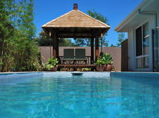 Pool and Bali Hut