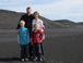 Our family: Paul, Claire, Jack and Henry on a visit to Iceland this past summer