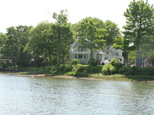 Our house on South Mill Pond