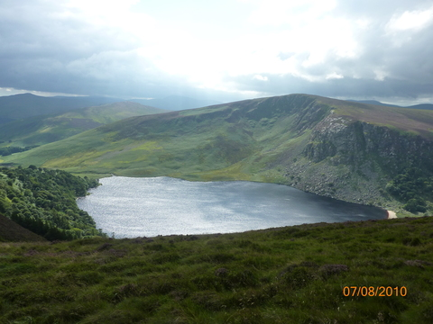 We love Lough Tay: This lovely spot in beautiful Wicklow is about a 45 minute drive away