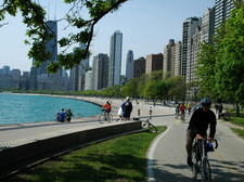 Bike the lakefront