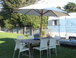 Garden and caravan Waitarere