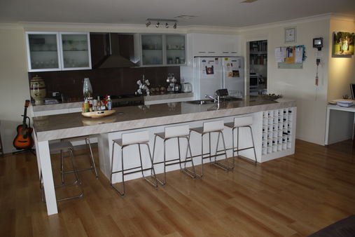 Kitchen: This is our newly renovated kitchen