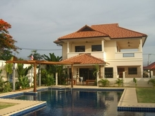 Thailand - House, pool & garden area