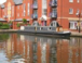 Canal Basin: Boats on opposite side of basin to apartment, so apartment remains private.
