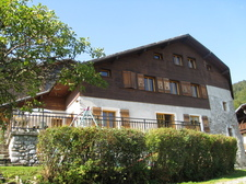 Chalet - spring view in 2009
