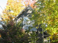 The house in early fall