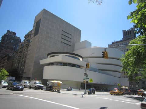 Guggenheim Museum around the corner
