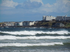 The waves of Portstewart Strand