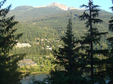 Whistler Mountain from Main floor