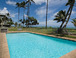 oceanfront pool: Our oceanfront pool and lawn area
