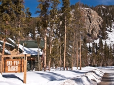 Entrance to Ski Tip Ranch