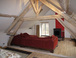 Master suite of 35m2 on top of the house with air conditioning and wood burning stove
