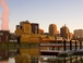 St. Paul Riverfront: Just 4 blocks from our apartment, take in paddle-wheel riverboats and barges on the Mississippi River Trail.