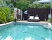 11m x 4m salt water pool