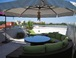 Rooftop terrace: Comfortable sofas, two chaises, two umbrellas, bistro set, dining table. You can grill burgers on our electric BBQ grill!
