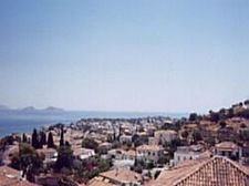 View of Spetses Town