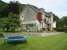 Forth House and garden