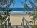 Walkway down to Mooloolaba Beach