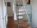 stairs leading up to loft conversion which we only did last year.