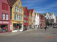 Bryggen in Bergen 20 min