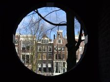 View from our door; Oude Waal, City Centre