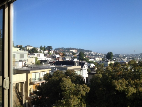view: view from living room of San Francisco