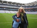 Corrie and Sam at Croke Park, Dublin