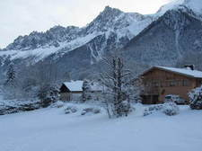 Vue depuis le chalet VIEW FROM THE CHALET