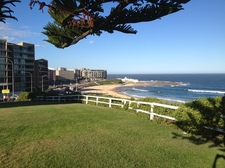 Newcastle city and beach