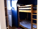 downstairs bedroom 2: Bedroom with bunkbeds.