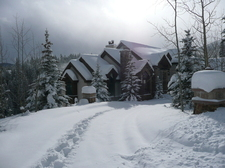 Our Breckenridge house winter