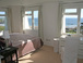 Triple aspect master bedroom with views of Bigbury Bay