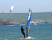 Windsurfing in Bigbury Bay