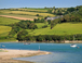 Bantham beach and the River Avon