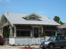 Craftsman Home in San Diego