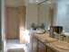 Master Bath: Spacious Master Bath with double sinks, jet tub. We have yet to remodel this area but hope to within the year.