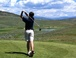 My Nephew playing golf at Headwaters Golf Course in Granby Ranch.