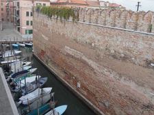 Il canale dell'Arsenale /the Arsenale canal outside the window