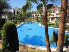 View on the main Swimming Pool