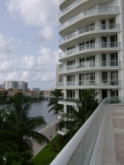 My building from pool deck