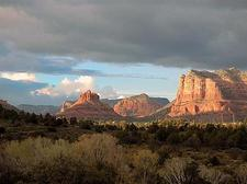 As you approach Sedona, this will be one of your first views