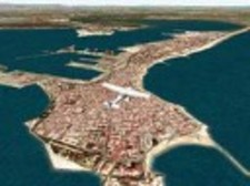 Cádiz from above