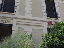 Facade de la maison