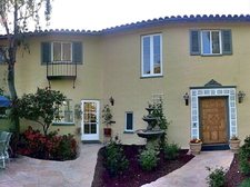 Front of house panoramic