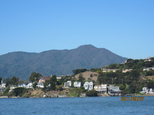 Mt. Tam as seen from Tiburon