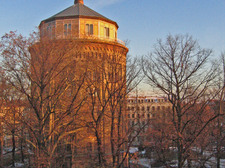 view on water tower (from living room)
